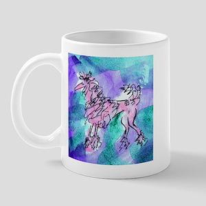 Pink Poodle Mug