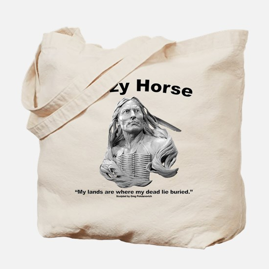 Crazy Horse: My Lands Tote Bag
