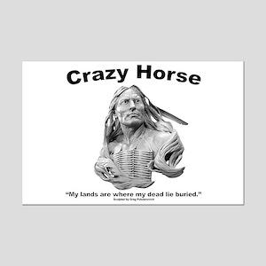 Crazy Horse: My Lands Mini Poster Print