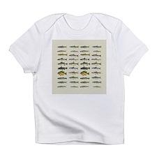 Freshwater Fish Chart Infant T-Shirt