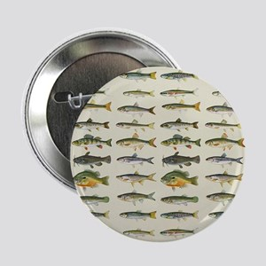 "Freshwater Fish Chart 2.25"" Button"
