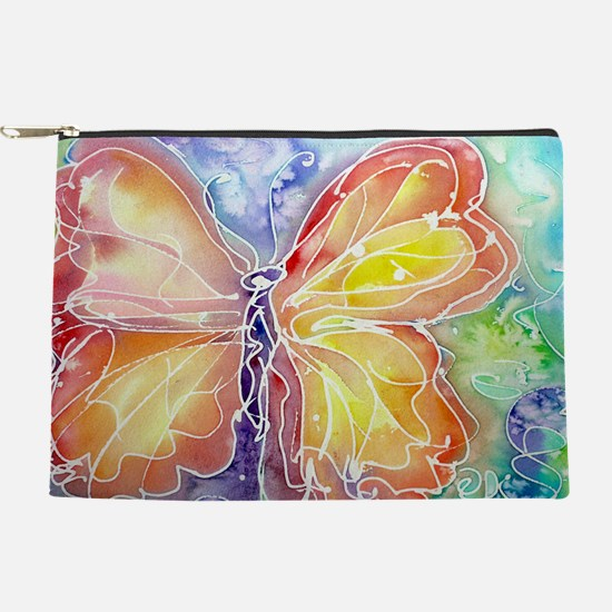 Butterfly, colorful art! Makeup Pouch
