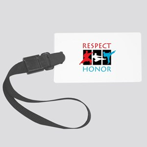 Respect Honor Luggage Tag