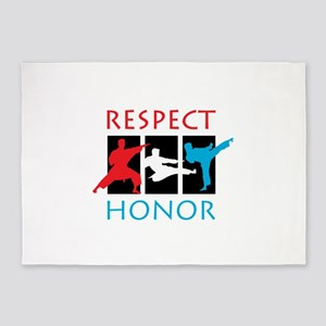 Respect Honor 5'x7'Area Rug
