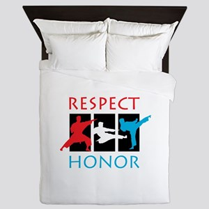 Respect Honor Queen Duvet