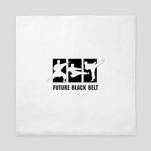 Future Black Belt Queen Duvet