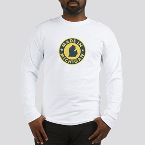 2-Made-In-MICHIGAN Long Sleeve T-Shirt