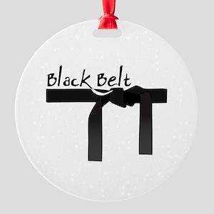 Black Belt Ornament