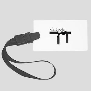 Black Belt Luggage Tag