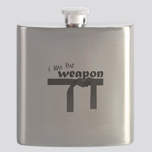 I Am The Weapon Flask