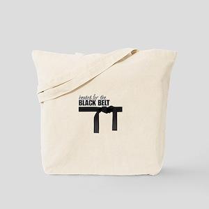 Headed For The Black Belt Tote Bag
