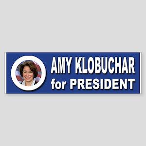 Amy Klobuchar for President 2016 Sticker (Bumper)