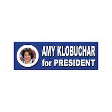 Amy Klobuchar for President 2016 Wall Decal
