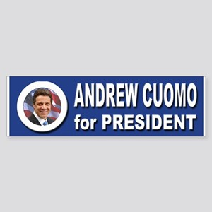 Andrew Cuomo for President 2016 Sticker (Bumper)