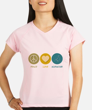 p0537-Acupuncture Performance Dry T-Shirt