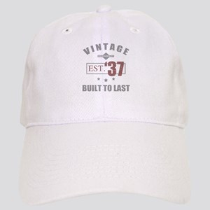 Vintage 1937 Birth Year Cap