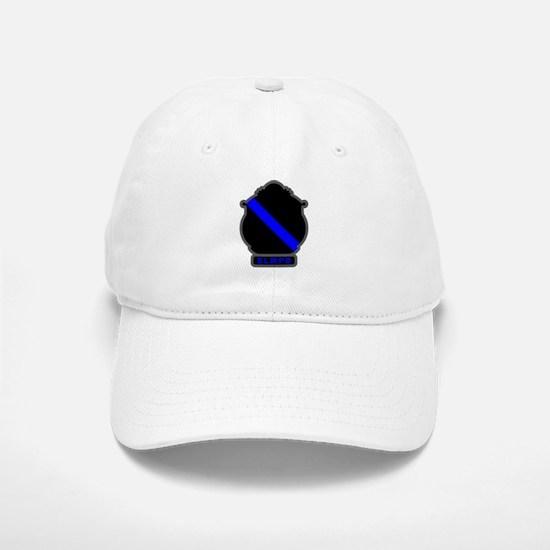 Blue Line SLMPD Baseball Baseball Cap