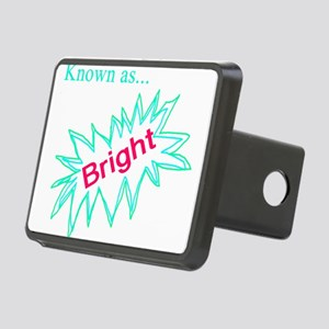Known as Bright Rectangular Hitch Cover
