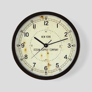 Vintage Nautical Wall Clock