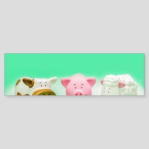 Farm Animals Sticker (Bumper)