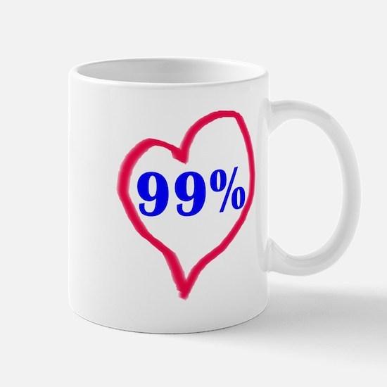 Love the 99% Mugs
