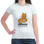 Feline Network Logo - Jr. Ringer T-Shirt