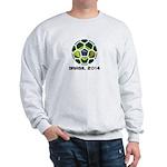Brazil (Brasil) World Cup 2014 Sweatshirt