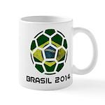 Brazil (Brasil) World Cup 2014 Mug