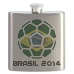 Brazil (Brasil) World Cup 2014 Flask