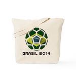 Brazil (Brasil) World Cup 2014 Tote Bag