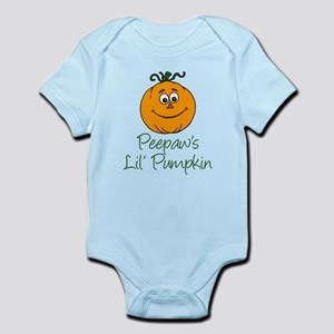 Peepaws Little Pumpkin Body Suit