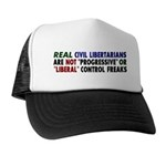 Real Civil Libertarians Trucker Hat