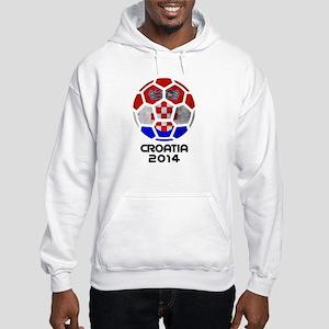 Croatia World Cup 2014 Hooded Sweatshirt