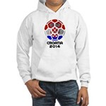 Croatia World Cup 2014 Hooded Sweatshirt