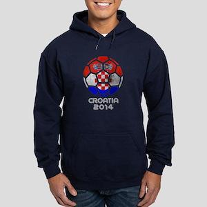 Croatia World Cup 2014 Hoodie (dark)