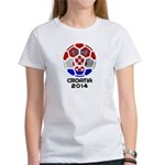 Croatia World Cup 2014 Women's T-Shirt