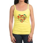 Croatia World Cup 2014 Heart Jr. Spaghetti Tank