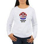 Croatia World Cup 2014 Women's Long Sleeve T-Shirt
