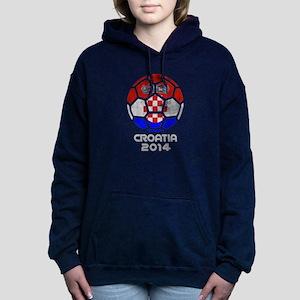 Croatia World Cup 2014 Women's Hooded Sweatshirt