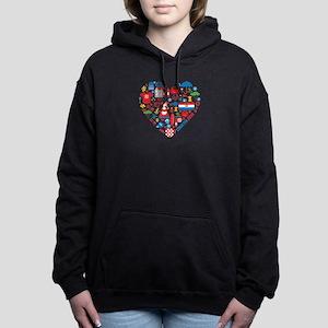 Croatia World Cup 2014 H Women's Hooded Sweatshirt