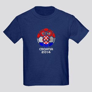 Croatia World Cup 2014 Kids Dark T-Shirt