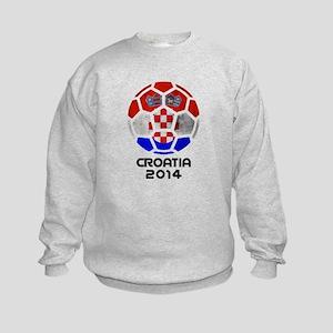 Croatia World Cup 2014 Kids Sweatshirt
