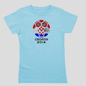 Croatia World Cup 2014 Girl's Tee