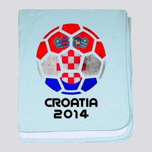 Croatia World Cup 2014 baby blanket