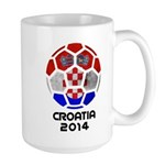 Croatia World Cup 2014 Large Mug