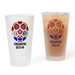 Croatia World Cup 2014 Drinking Glass