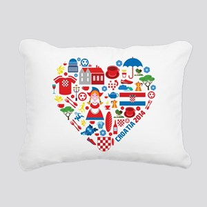 Croatia World Cup 2014 H Rectangular Canvas Pillow