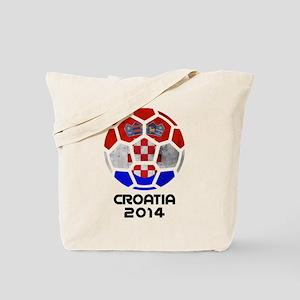 Croatia World Cup 2014 Tote Bag