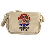 Croatia World Cup 2014 Messenger Bag