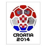 Croatia World Cup 2014 Small Poster